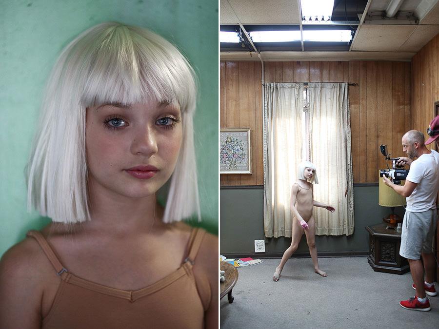 33 beste afbeeldingen van Sia - Chandelier - Maddie ...  |Maddie Ziegler Chandelier Behind The Scenes