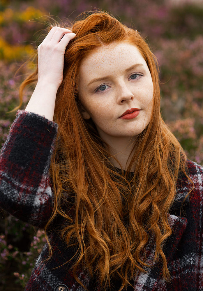 Redhead Beauty Brian Dowling Portrait Amp Event